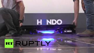 'Back to the Future'-style hoverboard comes to life