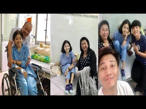 Diễn viên Mai Phương Cười Tươi Lạc Quan Khi Bạn Bè Đến Thăm Ở Bệnh Viện [Tin mới Người Nổi Tiếng]