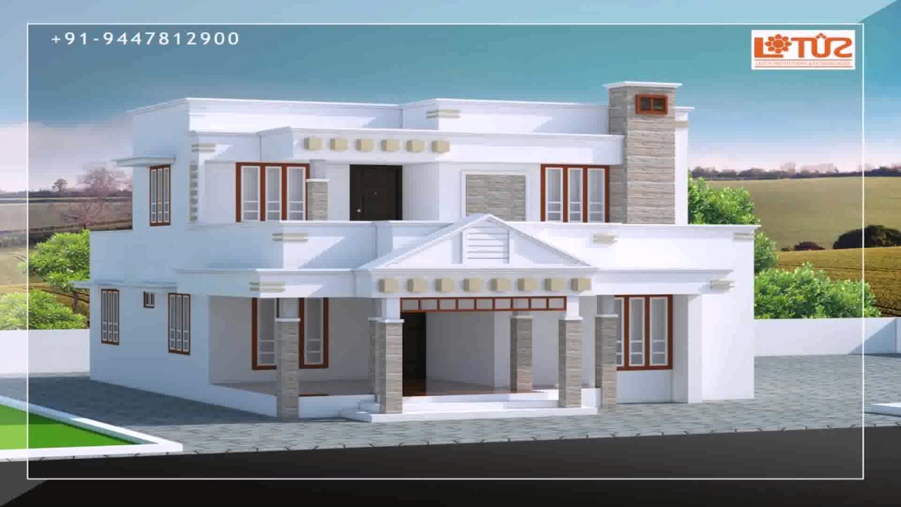 House plans in 7 cents kerala youtube for Free house plans and designs with cost to build