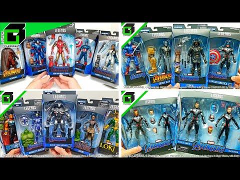 AVENGERS ENDGAME Marvel Legends COMPLETE SET COLLECTION (All Five Videos!)