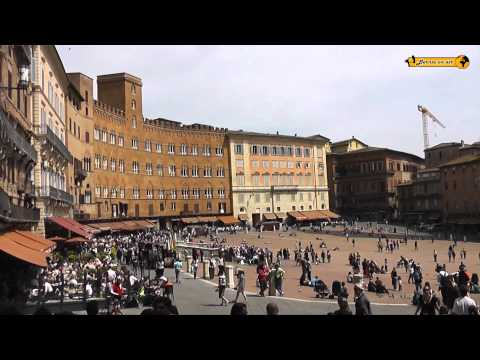 Schönheiten von Siena, Toskana, Italien