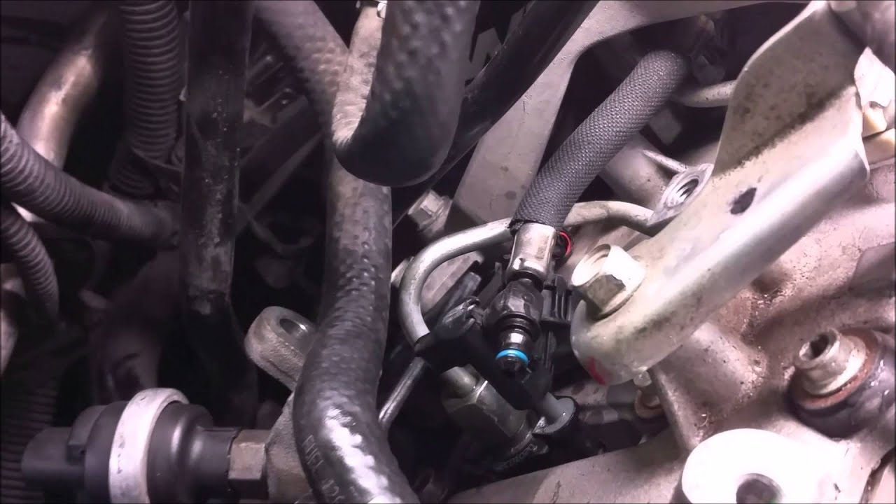 How To Remove  LML Duramax Fuel Return Lines  YouTube