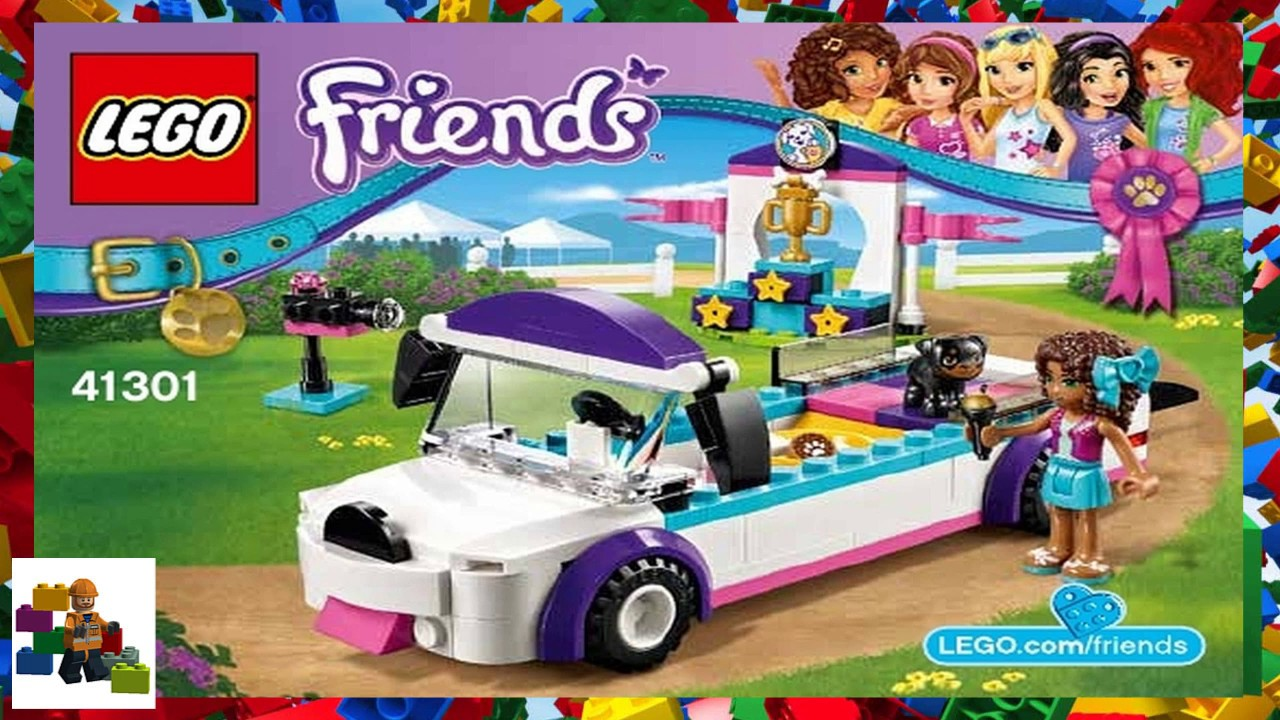 Lego Instructions Friends 41301 Puppy Parade Youtube