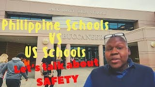 Dr. Mike's Back in School: are Philippine Schools Safer than American Schools??