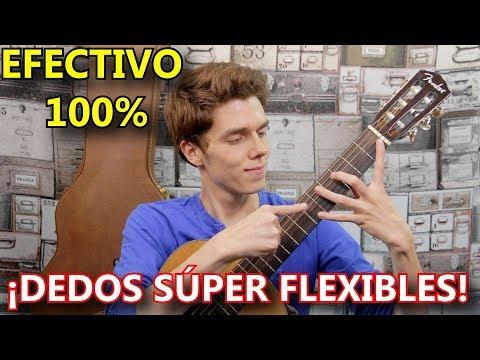 Este Ejercicio Hara Tus Dedos SUPER Flexibles Para Tocar La Guitarra Acustica o Electrica