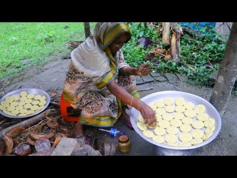 So Yummy Village Food / Amazing Tasty Coconut Pakan Pitha / Tasty Coconut Pakan Pitha Bengali Recipe