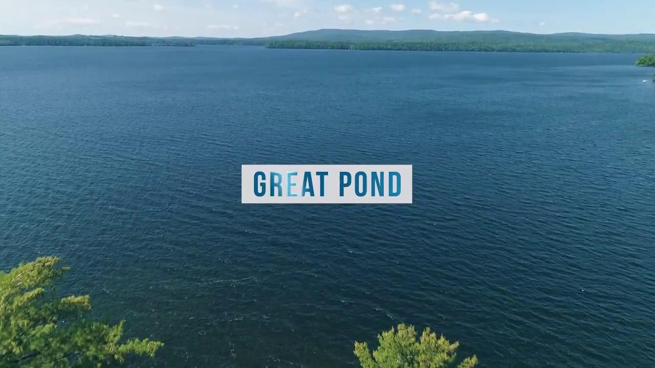Great Pond Rome Belgrade Maine Belgrade Lakes Maine