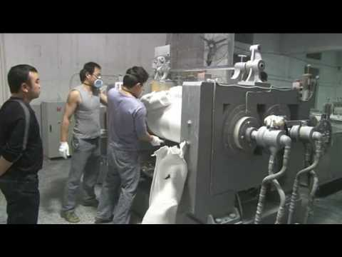RUBBER SHEET MAKING PROCESS