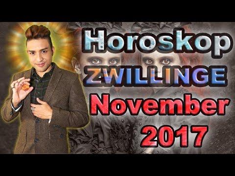 ASZENDENT ZWILLINGE HOROSKOP NOVEMBER 2017