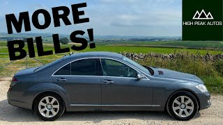 I BOUGHT A MERCEDES S CLASS FOR ONLY £3500 (PART 3)