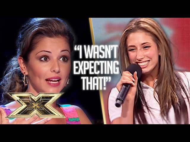 Stacey Solomon STUNS Judges with BEAUTIFUL vocals | The X Factor UK - The X Factor UK