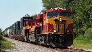 Epic 300 Mile Chase of Florida East Coast Railway Train 101 - 21 July 2017