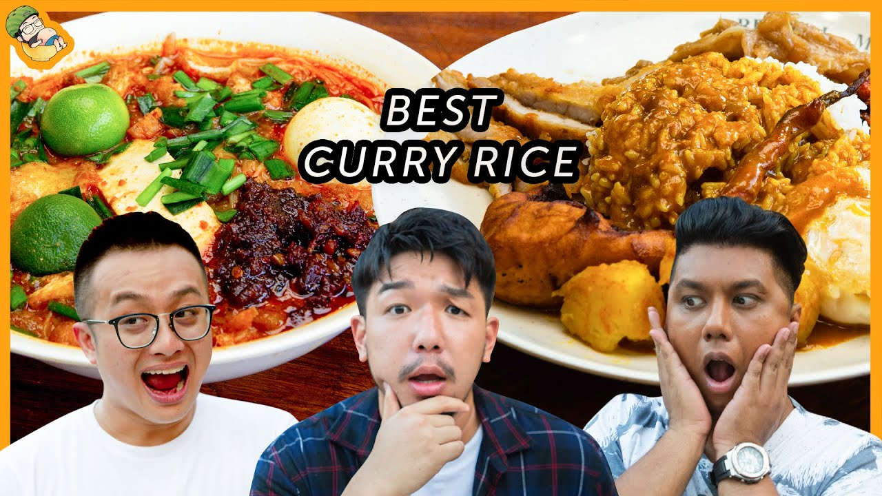 Food King Singapore: We Found the Best Curry Rice!