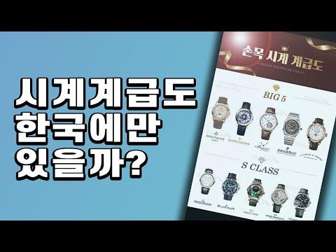 [와치빌런-41]해외 언론이 선정한 세계에서 가장 가치있는 시계 브랜드 64개