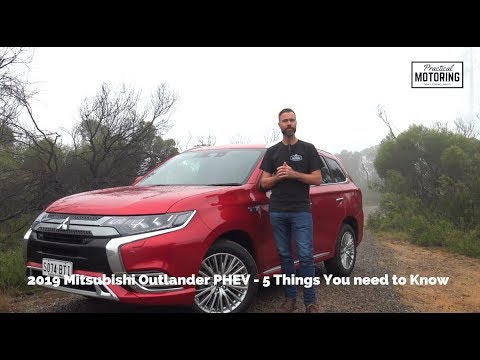 2019 Mitsubishi Outlander PHEV Review - The electric shock you want