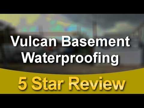 Vulcan Basement Waterproofing Philadelphia Excellent 5 Star Review By  Barbara S.