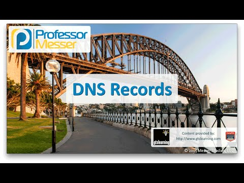 DNS Records - CompTIA Network+ N10-006 - 1.3