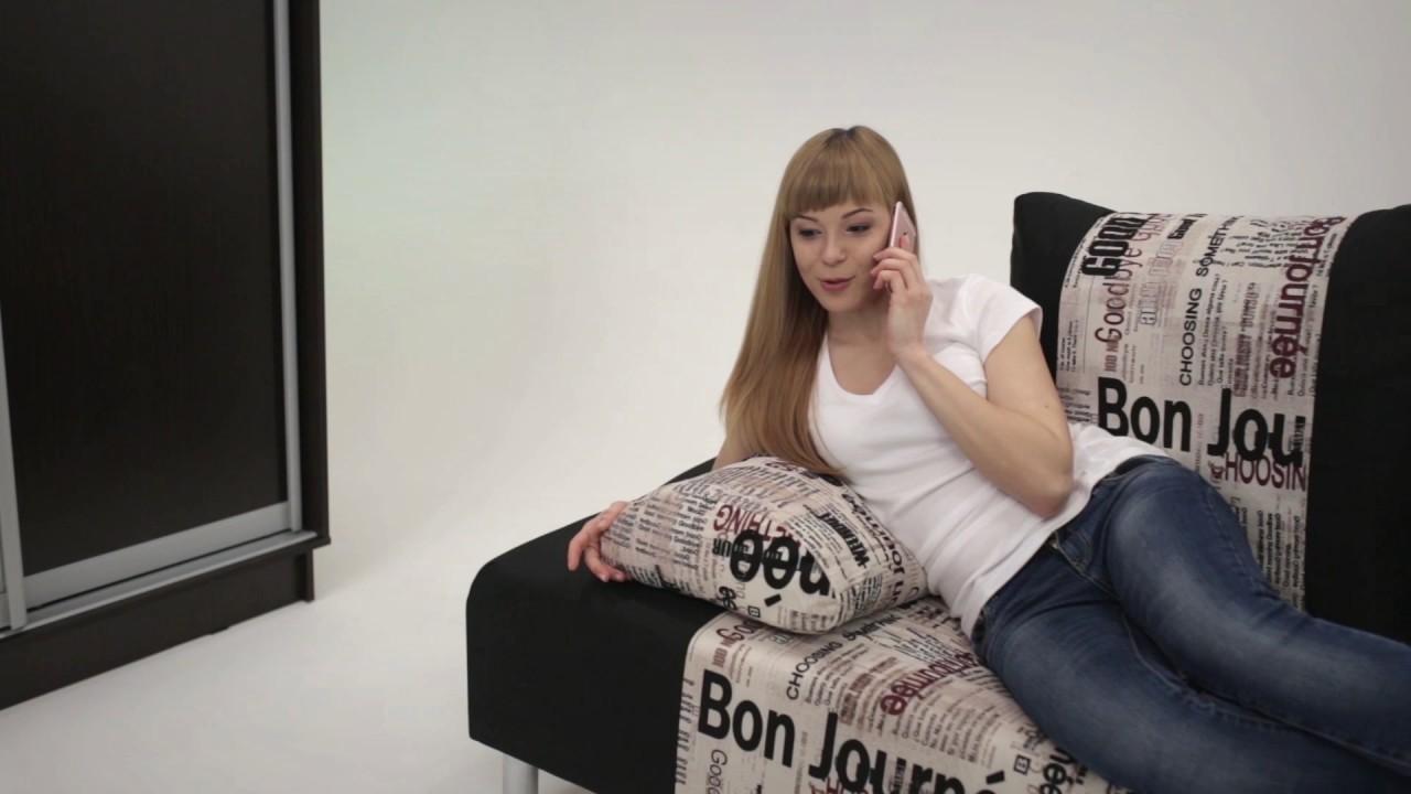 Еврочехол - чехол на диван - YouTube