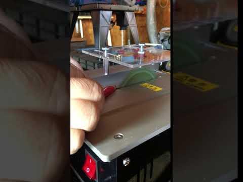 Mini Hobby Table Saw Handmade Woodworking Bench Saw DIY Crafts Cutting Tool Circular Saw Blade