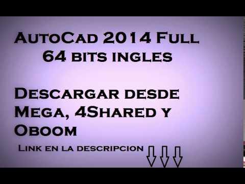 Descargar autocad 2014 full español 64 bits