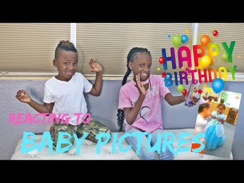 Reacting To Yaya's Old Baby Pictures- Happy Birthday Edition