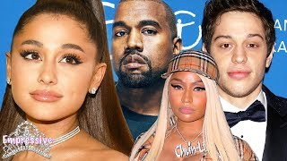 Ariana Grande's messy drama with Pete Davidson, Kanye West, and Nicki Minaj!