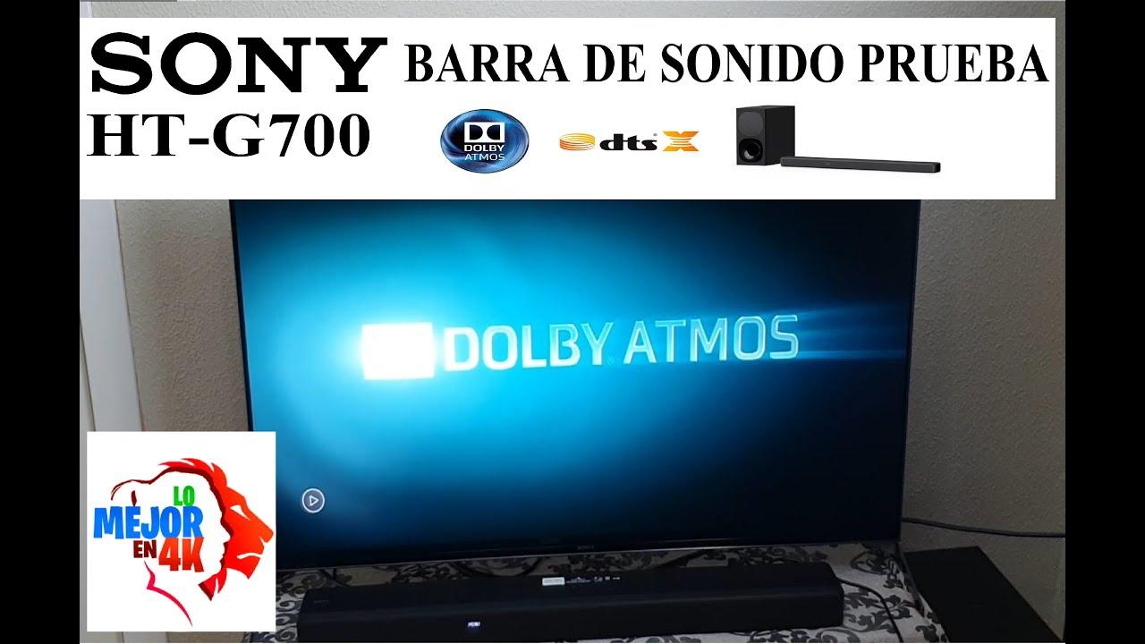 Análisis Barra de Sonido Sony HT-G700
