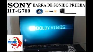 Sony HT-G700 - REVIEW: Una Excelente BARRA DE SONIDO Dolby Atmos DTS-X
