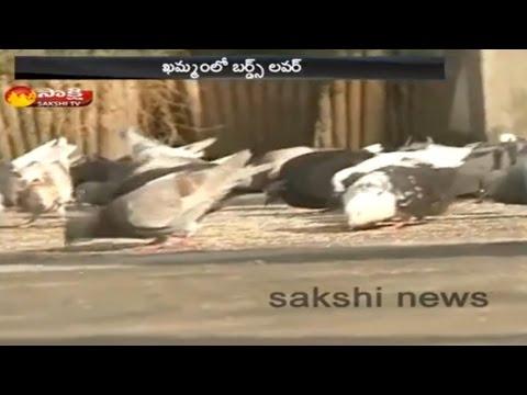 Birds Lover in Khammam District    Sakshi Special - Watch Exclusive