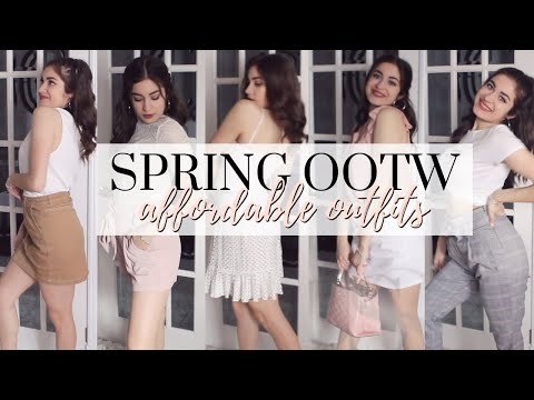 May OOTW | Affordable Go-To Spring Outfits!