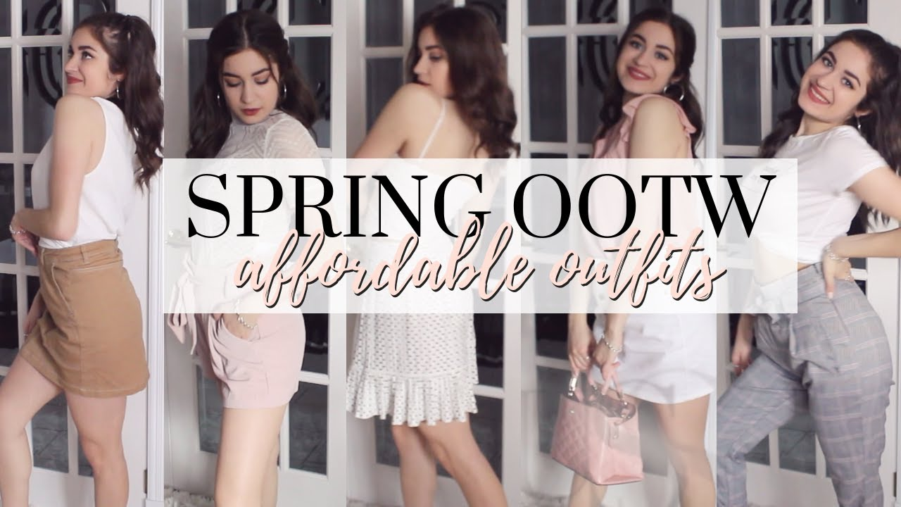 [VIDEO] - May OOTW | Affordable Go-To Spring Outfits! 9
