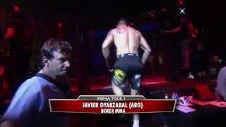 JAVIER OYARZABAL VS PABLO DORTA - ARENA TOUR 2 - LUNA PARK - BUENOS AIRES  - ARGENTINA