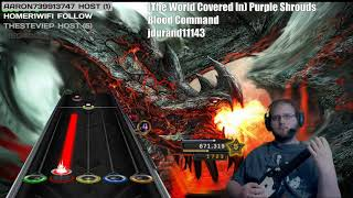 (The World Covered In) Purple Shrouds by Blood Command ~ 100% FC (Clone Hero)