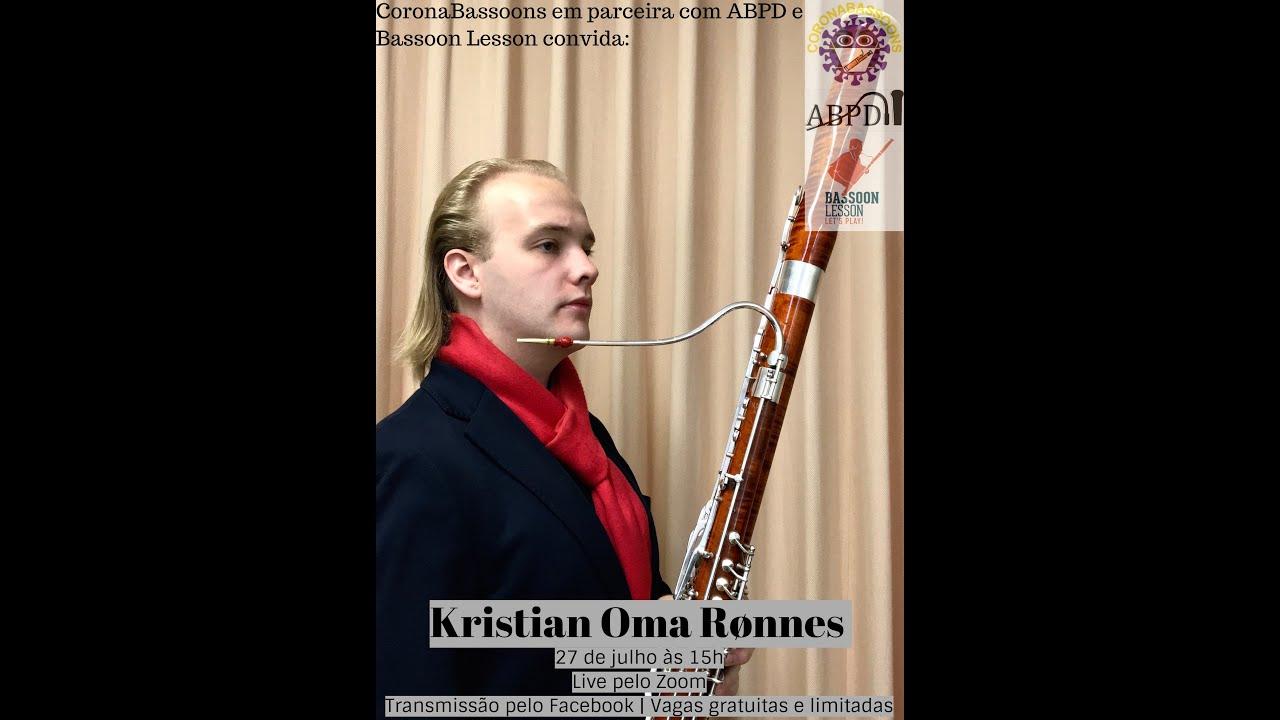 Live com o professor Kristian Oma Rønnes