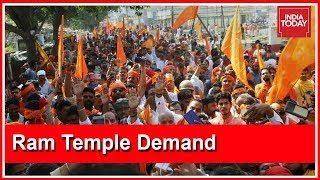 RSS-VHP Demands Construction Of Ram Temple In Ayodhya; Mounts Pressure On Govt thumbnail
