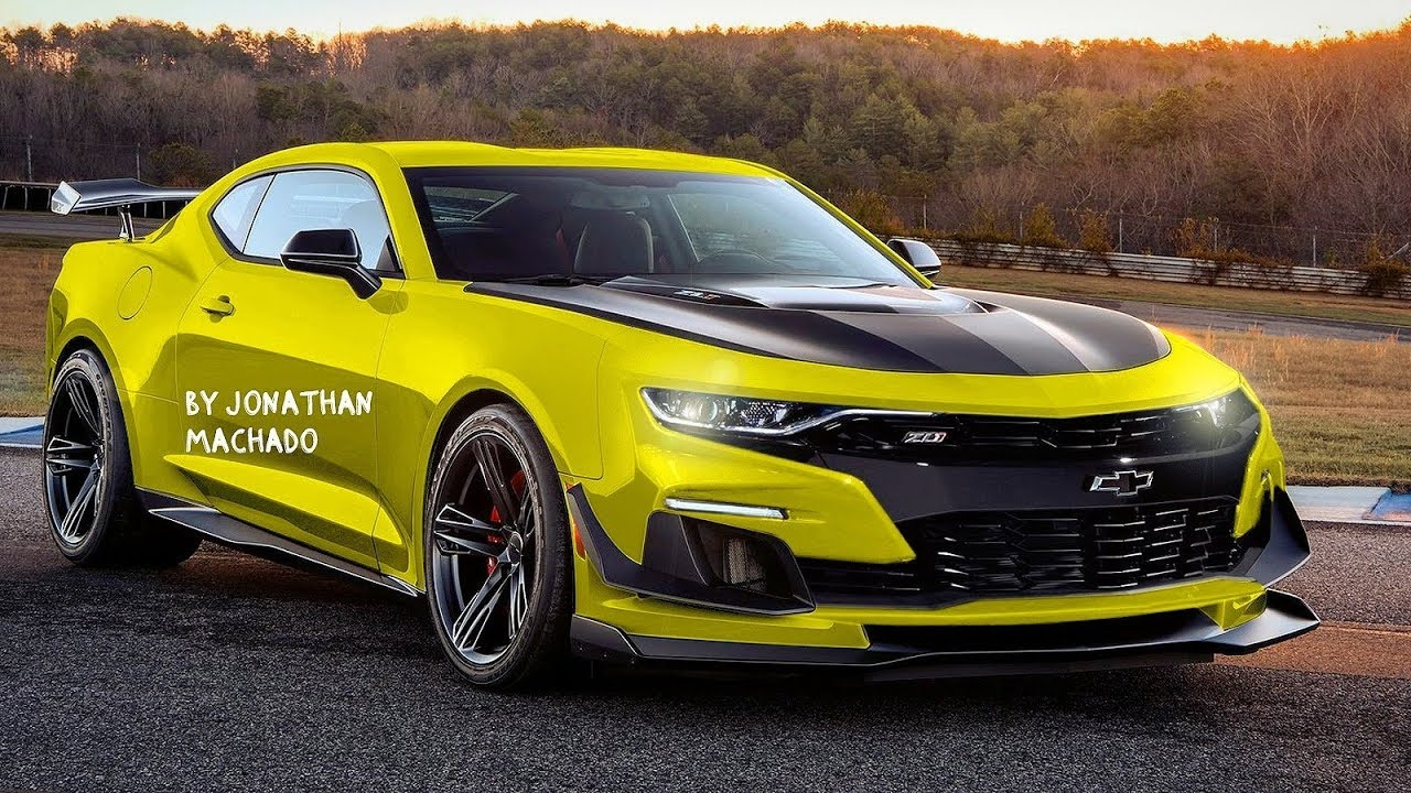 Render 2020 Chevrolet Camaro Zl1 1le Facelift Gm