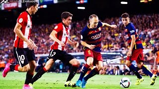 Andrés Iniesta ● Dominating The Midfield ● 2015-16