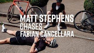 Matt Stephens Chases Fabian Cancellara | Sigma Sports