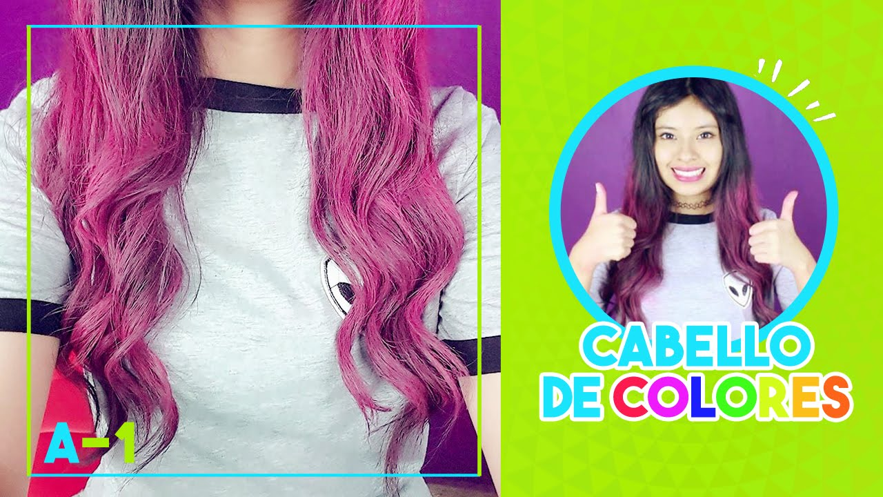 Pinta Tu Cabello De Colores Akari Beauty By Akari Beauty Official