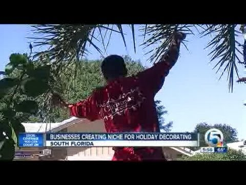 Businesses creating niche for holiday decorating