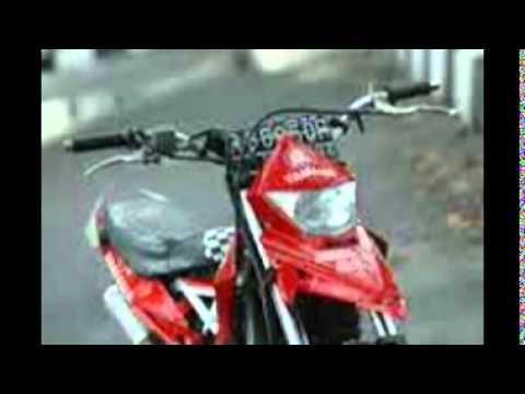 Video Modifikasi Motor Bebek Yamaha Jupiter Mx Custom Trail