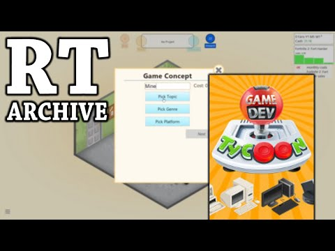 RTGame Archive:  Game Dev Tycoon