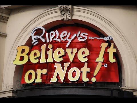 strangest attraction in london ripley s believe it or not youtube