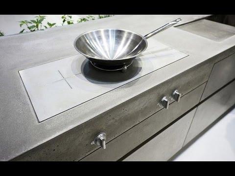 küche beton. küche porenbeton. küche design. - youtube - Küche Aus Beton Selbst Bauen