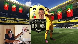 INFORM RONALDO IN A FREE FIFA 17 PACK OMFG!!! BEST FREE PACKS!!