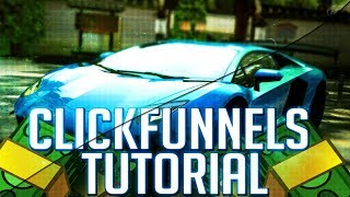 ClickFunnels Tutorial - Building a click funnel & landing page (in less than 11 mins...)