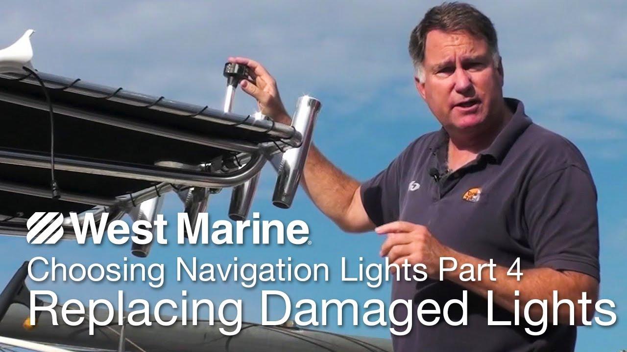 medium resolution of boat running light color