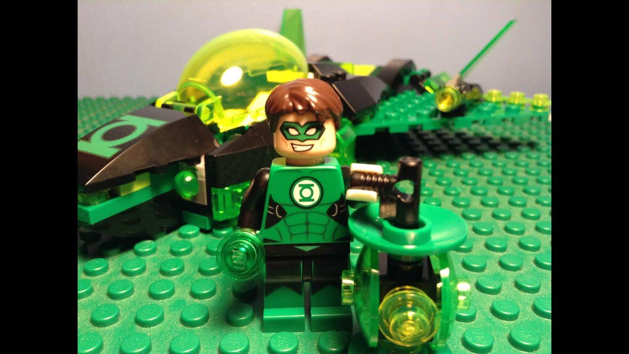 LEGO Green Lantern vs Sinestro Review - YouTube
