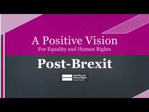 Our vision for equality and human rights post-Brexit