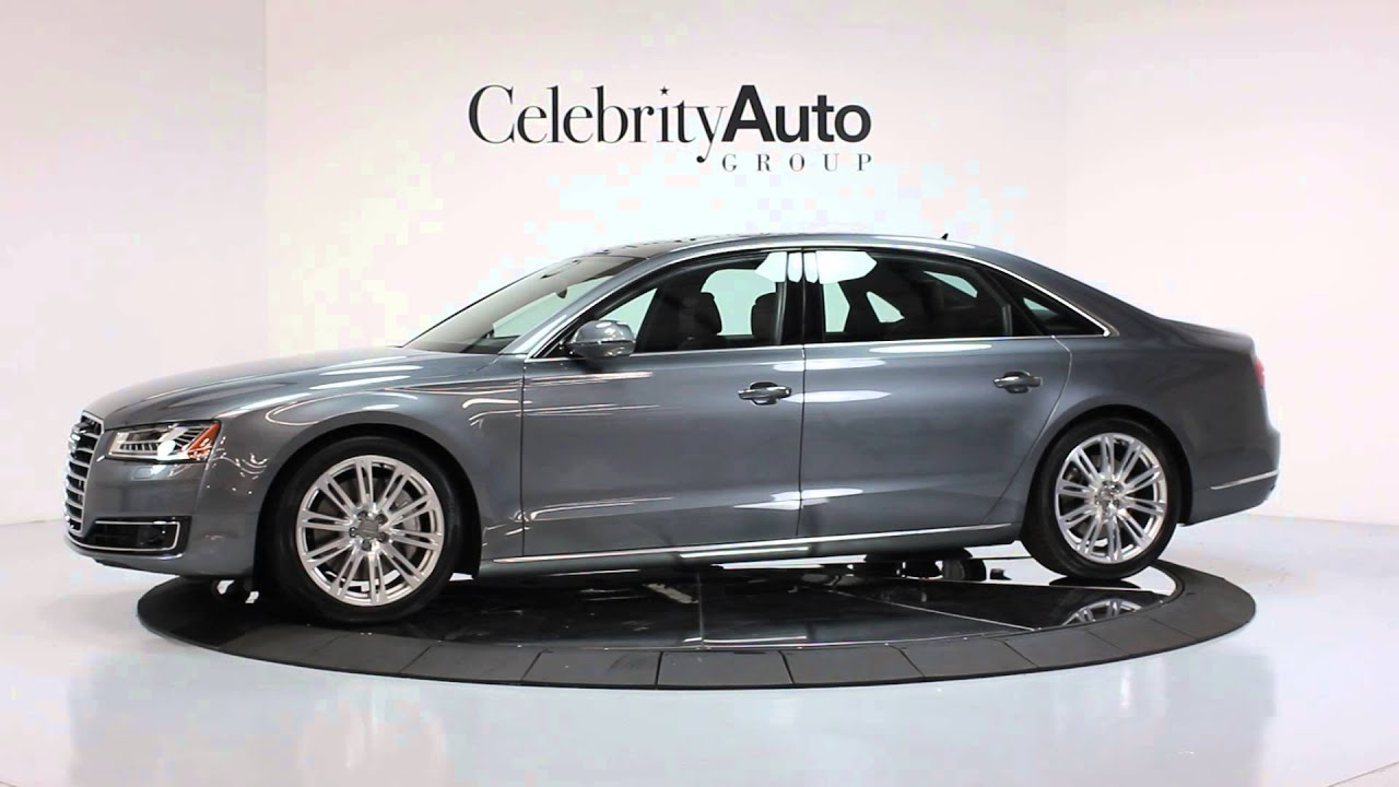 2015 audi a8l 4 0t quatrro 119 210 msrp tiptronic premium pkg luxury youtube. Black Bedroom Furniture Sets. Home Design Ideas